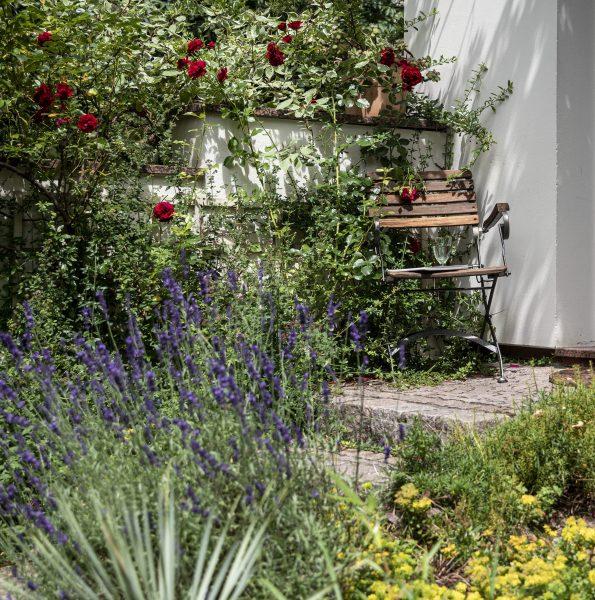 Villa am Park aufgang Gartenzimmer